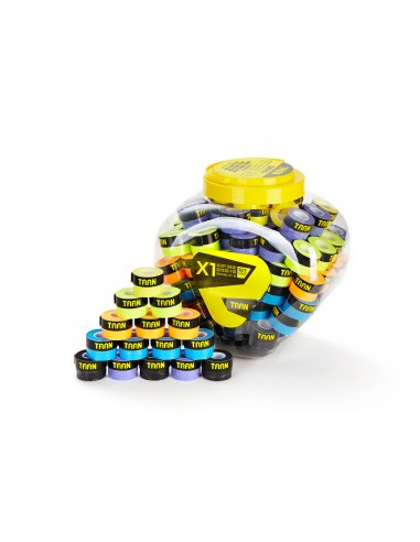 TAAN GRIP X1 MULTICOLOR (120 PIECES)